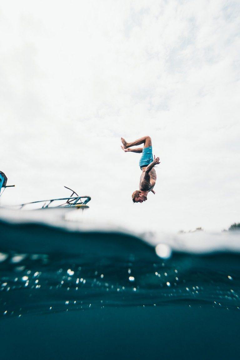כיף, יאכטה, לקפוץ למים, אילת